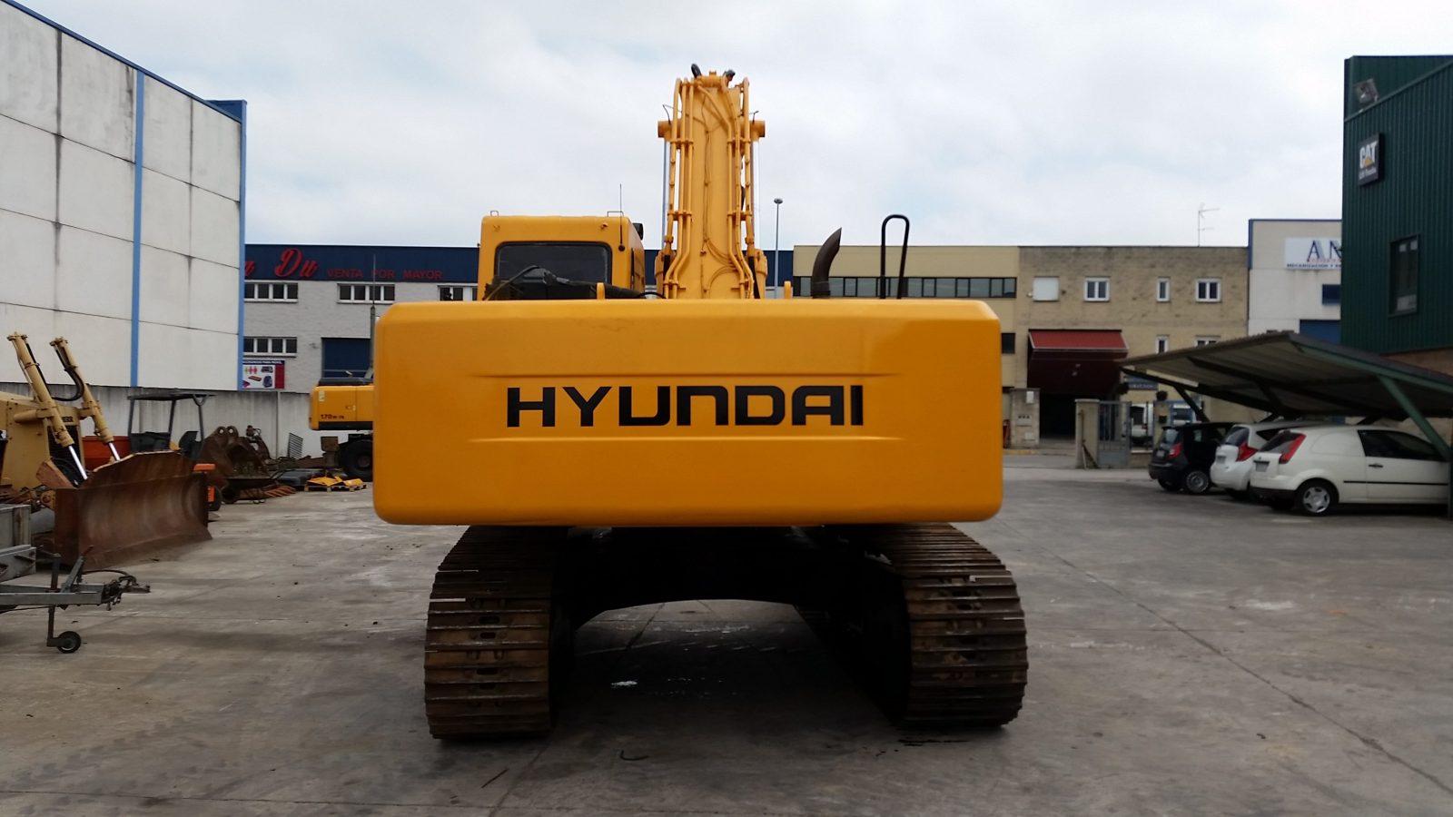 Retroexcavadora HYUNDAI R290LC-7